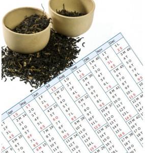 Grönt te present prenumeration 6 månader